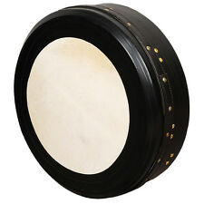 "Muzikkon Irish Bodhran,16""x4"" Bodhran Drum Tunable Deep tune, Irish Drum"