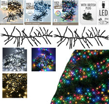 1152 LED Christmas Tree Cluster Lights Indoor Outdoor String Light Decoration