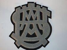 "Original West Point/USMA Monogram Chenille Athletic Award Patch ""Rare"""