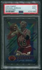 1994/95 Topps Finest Basketball #331 Michael Jordan W/Coating PSA 9 (MINT)