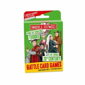 Horrible Histories Terrifying Tudors to Terrible C20th Battle Card Games (pl)