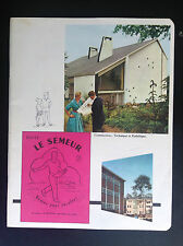 Buvard Tintin Timbre et cahier Le semeur ETAT NEUF