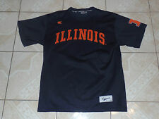 Illinois Colosseum Football Jersey Adult Large Sewn Logos New