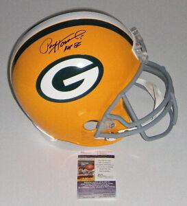PACKERS Paul Hornung signed F/S Replica helmet w/ HOF86 JSA COA AUTO Autographed