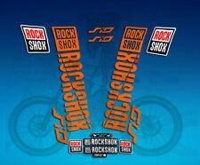 ROCK SHOX Fourche Stickers Autocollants vtt DOWN HILL MTB #b069