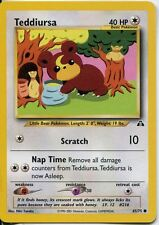 Pokemon Neo Discovery Common Card #65/75 Teddiursa