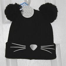 Black Ball Beanie Hat One Size by Cozy Zone Nwt
