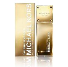 NIB MICHAEL KORS 24K Brilliant Gold Eau de Parfum 1.7 oz Sealed-MK7005 Sealed