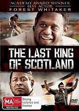 THE LAST KING OF SCOTLAND - BRAND NEW & SEALED R4 DVD (FOREST WHITAKER)