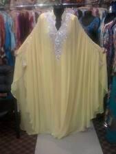 ELEGANT Moroccan Kaftan Long Maxi Dress Abaya Jilbab Islamic Kheleeji jalabiya79