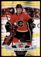2019-20 OPC Platinum Seismic Gold #131 Matthew Tkachuk /50 - Calgary Flames