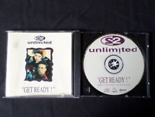 2 Unlimited. Get Ready! Compact Disc. 1992. Made In Australia