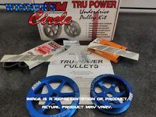 Closeout: AEM 23-7018B Tru-Power Pulley Kit for Honda Accord 4-Cyl 94-02