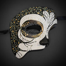 Phantom of the Opera Mask, Phantom Masquerade ball Mask for Men M31167