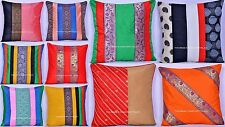 Wholesale Lot 10 Indian Pillow Cover Throw Kantha Cushion Pillow Sham Gypsy 16""
