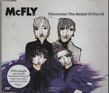 McFLY Ultraviolet / Ballad of Paul K 4  TRACK CD + POSTER   NEW - NOT SEALED