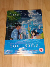 Your Name Limited Edition Steelbook Blu-ray & DVD Brand New and Sealed