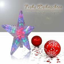 LED Weihnachtsstern Weihnachtsdeko Fenster Stern Advent Leuchtstern Dekostern
