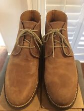 Orvis Mens Chukka Boots Tan Leather Size 10D