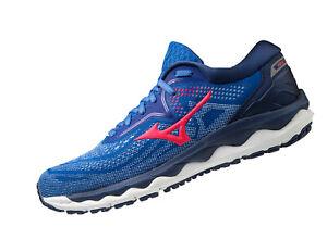 Mizuno Wave Sky 04 Running J1GD200262 Blau Damen B-Ware Gr. 38,5 Schuhe