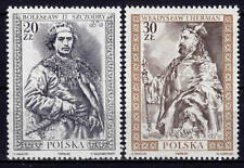 POLAND 1989 **MNH SC#2932/33 ROYALTY (IV), Boleslaw SZCZODRY, Wladyslaw HERMAN