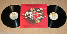 ORIGINAL SOUNDTRACK AMERICAN HOT WAX 2LP RECORDS VG+ CHUCK BERRY