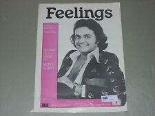 Morris Albert: Feelings    Sheet Music