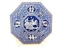 SPODE BLUE ROOM SUTHERLAND COLLECTION GREEK  PLATE