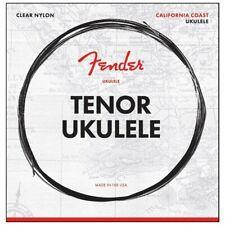 Fender Tenor Ukulele Strings, Clear Nylon, .0285, .0327, .041, .029 Gauges
