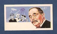 H G WELLS  Herbert George  War of the Worlds Time Machine 1969 original card
