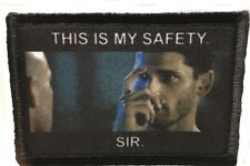 This Is My Safety Blackhawk Down Morale Patch Tactical Army Funny Military