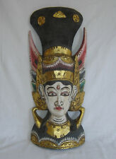 Small Hand Carved & Painted Indonesian Freestanding Ornament