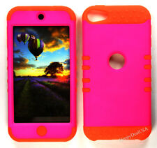 For Apple iPod Touch iTouch 5 6 - KoolKase Hybrid Silicone Cover Case - Hot Pink