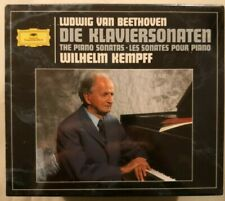 Beethoven: Die Klaviersonaten - Piano Sonatas - Wilhelm Kempff  (CD, 9 Discs)