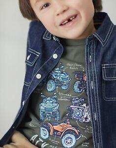 Joules Boys Chamberline Denim Shirt  - Denim - 2Yr
