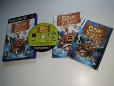 * Sony Playstation 2 Game * OPEN SEASON with Sticker * PS2