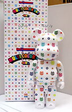 Multi Color Ver. 400%  Bearbrick Set , 1 pc - Medicom Be@rbrick      ==