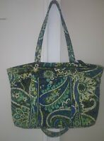 VERA BRADLEY Purse Tote  Bag RHYTHM & BLUES Flower Paisley