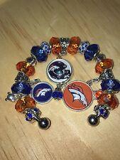 ON SALE. Denver Broncos charm European Bracelets