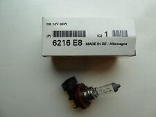 Genuine Peugeot 308 508 RCZ Citroen C5 C-Zero Fog Light Bulb 6216E8