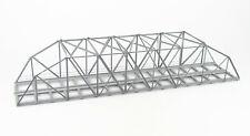 Spur H0 Bogen/Kastenbrücke, Metall, 50cm, 2-gleisig, Fertigmodell, Rückbau