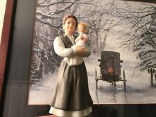 Amish Mother With Baby Figurine by Home Interiors