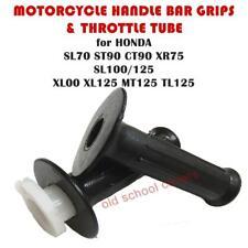 HANDLE BAR GRIP & THROTTLE HONDA SL70 ST/CT90 XR75 SL100 XL100 125 MT125 TL125