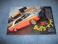 """1970 Dodge Dart Swinger Custom Resto-Mod Article """"Bull's Eye!"""""""