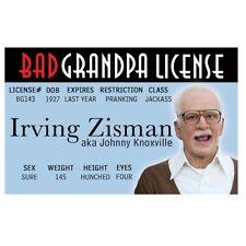Bad Grandpa fake Id i.d. card Drivers License