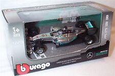 Mercedes AMG petronas F1 W05 hybrid lewis hamilton car 1.43 scale burago