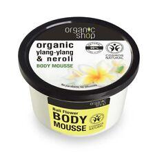 Tienda de orgánica cuerpo Mousse Ylang Ylang & Neroli 250 Ml