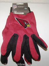 Arizona Cardinals NFL Logo Two Tone Utility Garden Game Gloves