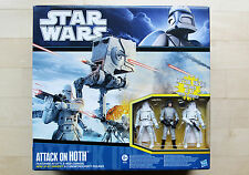 STAR WARS * Attack on Hoth Battlepack * AT-ST, Snowtrooper * FACTORY SEALED