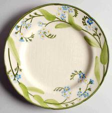 Antique Vintage Franciscan Forget Me Not Dinner Plate Dish Ceramic Signed Gift